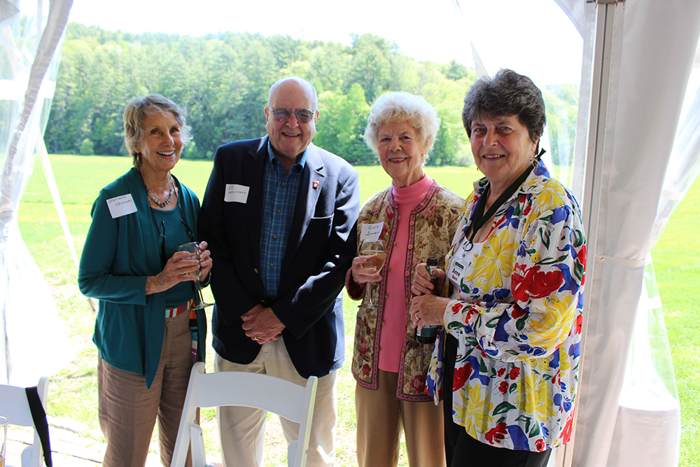 Stephanie Reininger, Joe Medlicott, Ginia Allison, Anne Baird